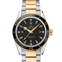Omega 23320412101002 Seamaster Co-axial Gold Automatic Men