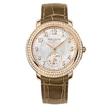 Patek Philippe 4968R-001 Rose Gold Ladies Complications 33.3mm...