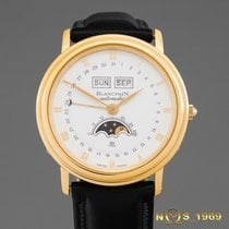 Blancpain Villeret 18K Gold Moon-Phase Triple Calendar  BOX...