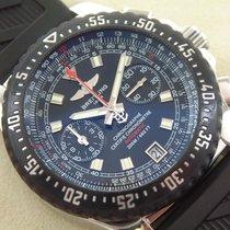 Breitling SKYRACER RAVEN Chronograph, Full Set, Kautschukband