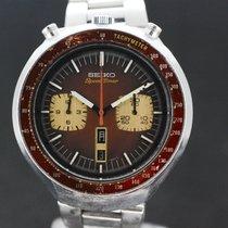 Seiko Bullhead Speedtimer Chronograph Brown cal 6138