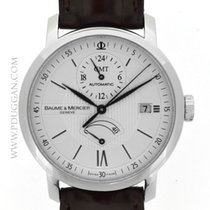 Baume & Mercier stainless steel Classima