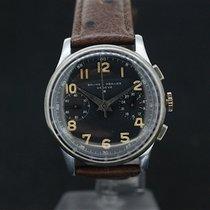 Baume & Mercier Military Handaufzug Chronograph Black Dial...