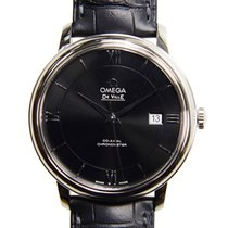 Omega De Ville Stainless Steel Black Automatic 424.13.40.20.01...