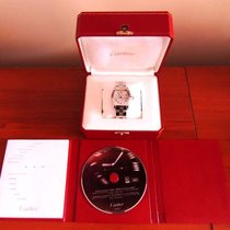 Cartier Roadster Large SS 2510 Automatic Silver Dial Date...
