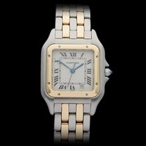 Cartier Panthere Stainless Steel/18k Yellow Gold Ladies W25028B6
