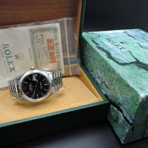 Rolex DATEJUST 16014 Stainless Steel Original Black Dial with...