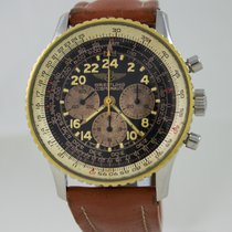 Breitling Navitimer Cosmonaute Two Tone Black Dial