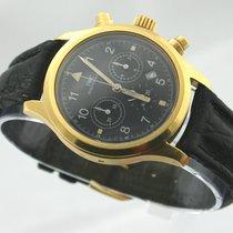 IWC Fliegerchronograph 18ct. Gold Herrenuhr Pilots Watch  Chrono