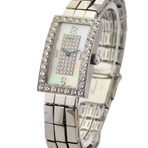 Chopard 10/7018/8/20 Classique Rectangle in White Gold with...