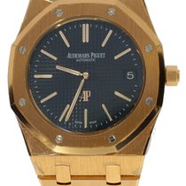 Audemars Piguet Royal Oak Jumbo Extra Thin Rose Gold Blue Dial