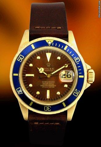 Rolex VINTAGE SUBMARINER 1680 Brown Dial