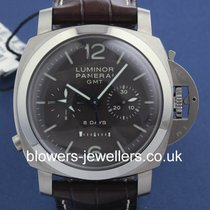 Panerai Luminor 1950 Chrono Monopulsante 8 Days GMT Titanio