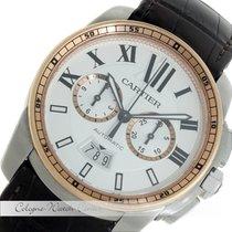 Cartier Calibre de Cartier Chronograph Stahl/Rosegold W7100043