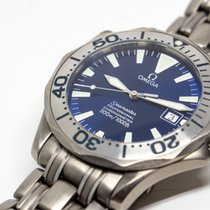 Omega Seamaster Professional 300M Titanium (Electric Blue)