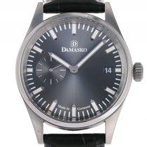 Damasko DK101 Stahl Handaufzug 42mm