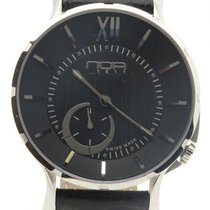 N.O.A Noa Slim Watch 18.60 Mslq-001 Black Dial 40mm  W/ Box...
