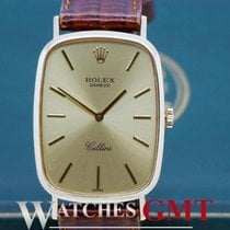Rolex Cellini Gold 4113/8 Manual Winding with Papers