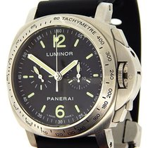 Panerai stainless steel Luminor Chronograph