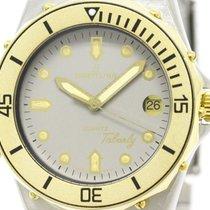 Breitling Polished Breitling Tabarly Gold Plated Steel Quartz...