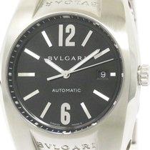 Bulgari Polished  Ergon Steel Automatic Mens Watch Eg40s...