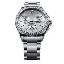 Maurice Lacroix Miros Diamond Chronograph Ladies Watch...
