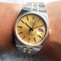 Rolex 17013 Datejust Two Tone Oyster Quartz Watch