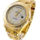 Rolex 218238 Day Date II 18k Yellow Gold Watch