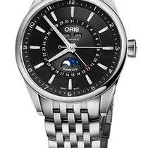 Oris Artix Complication, Black Dial, Steel