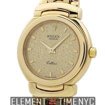 Rolex Cellini Lady 18k Yellow Gold 26mm Quartz Circa 1994 Ref....