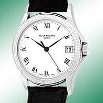 "Patek Philippe Gent's 18K White Gold  # 5117-G ""Calatr..."