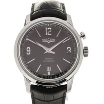 Vulcain 50s Presidents'Watch 42 Automatic Charcoal
