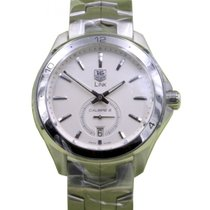 TAG Heuer Link WAT2111.BA0950 40mm Silver Index Stainless...