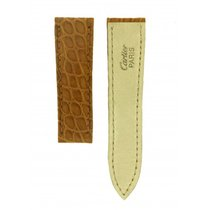Cartier -brown Alligator Leather Strap