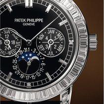 Patek Philippe [NEW+RARE] Grand Complication Mens Black Dial...