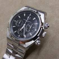 Vacheron Constantin Overseas 42mm Chronograph - STEEL - B&P