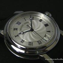 "Breguet : Stainless Steel Date ""Ref. 5817ST/12/SM0""..."