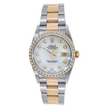 Rolex DateJust Turn-O-Graph in 18K & Stainless Steel with...