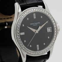 Patek Philippe Calatrava White Gold With Diamonds 5108G-010...