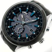 Seiko Astron GPS Solar Keramik GMT Saphir Date Herren Uhr...