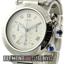Cartier Pasha Collection Pasha Chronograph Stainless Steel...