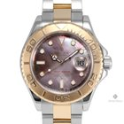 勞力士 (Rolex) Yacht-Master Steel and Gold Black Mother of Pearl...