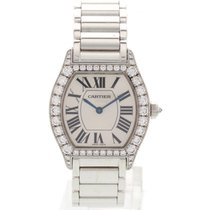 Cartier Ladies Cartier Tortue 18k White Gold & Diamonds 2644