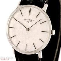 Longines Vintage Classic Gentlemans Watch Stainless Steel Bj-1960