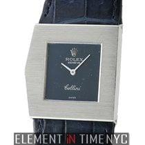 Rolex King Midas 18k White Gold 28mm Blue Dial Circa 1980