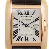Cartier- Tank Anglaise Großes Modell, Ref. W5310005