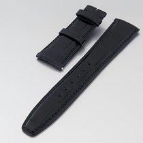 """IWC Uhrenarmband """"Lederband schwarz 22/18 mm"""" f.Falt+D..."""