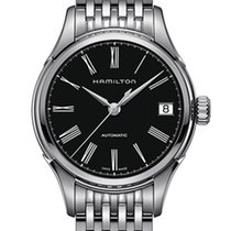 Hamilton Timeless Classic Valiant Automatic Black Dial T