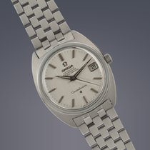 Omega Constellation steel automatic watch