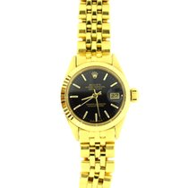 Rolex DateJust lady full Yellow gold vintage